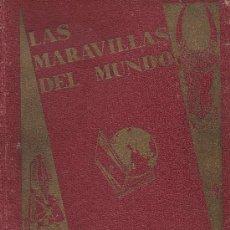 Coleccionismo Álbum: LAS MARAVILLAS DEL MUNDO COMPLETO 480 CROMOS SERIE LUJO AÑO 1932 EDITA NESTLE . Lote 24729167