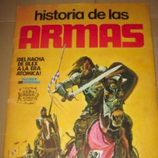Coleccionismo Álbum: ANTIGUO ALBUM HISTORIA DE LAS ARMAS - COMPLETO - . Lote 24800186