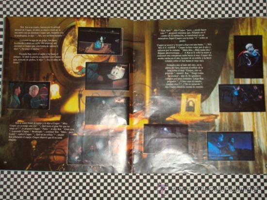 Coleccionismo Álbum: CASPER * ALBUM COMPLETO * 156 STICKER * PANINI * - Foto 3 - 24975474