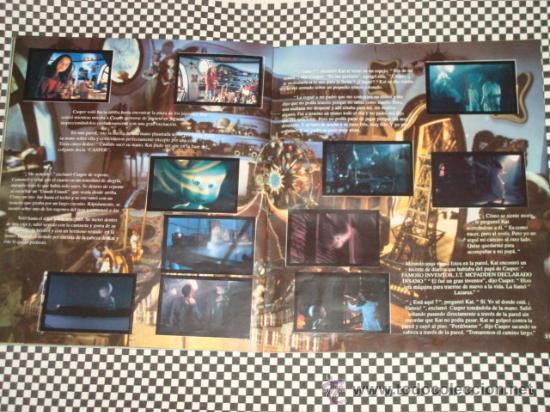 Coleccionismo Álbum: CASPER * ALBUM COMPLETO * 156 STICKER * PANINI * - Foto 4 - 24975474