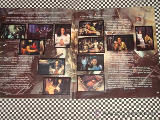 Coleccionismo Álbum: CASPER * ALBUM COMPLETO * 156 STICKER * PANINI * - Foto 5 - 24975474