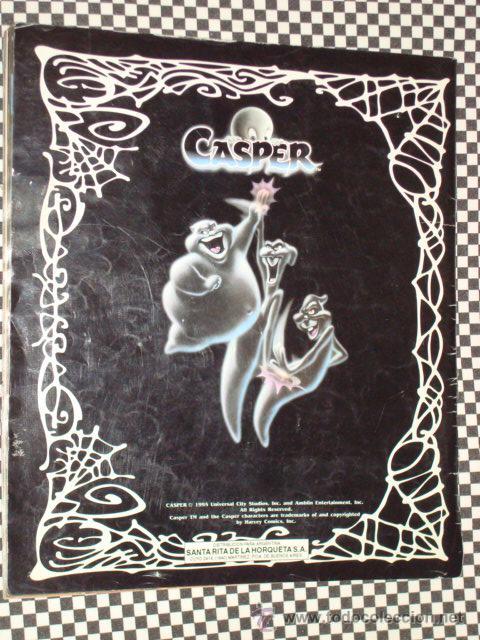 Coleccionismo Álbum: CASPER * ALBUM COMPLETO * 156 STICKER * PANINI * - Foto 6 - 24975474