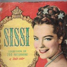 Coleccionismo Álbum: SISSI. BRUGUERA 1957. COMPLETO 200 CROMOS.. Lote 25202829