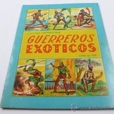 Coleccionismo Álbum: GUERREROS EXÓTICOS, COLECCIÓN CROMOFHER, COMPLETO.. Lote 25276821