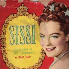 Coleccionismo Álbum: SISSI. BRUGUERA 1957. COMPLETO 200 CROMOS.. Lote 25337038