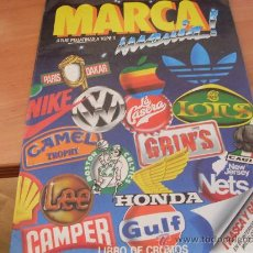 Coleccionismo Álbum: MARCA MANIA . ALBUM CASI COMPLETO , SOLO FALTA EL Nº 48 (AB-1). Lote 25438465