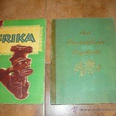 Coleccionismo Álbum: ALBUM DE CROMOS ALEMAN DEUSCHLANDS VOGELVELS FAUNA 1933 Y OTRO DE REGALO FAUNA DE AFRICA. Lote 63089362