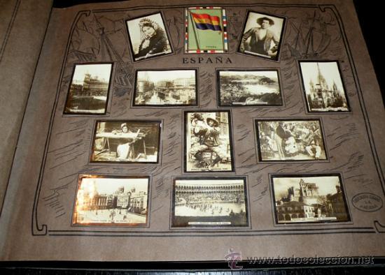 ALBUM GEOGRAFICO UNIVERSAL - COMPLETO - TABACALERA CUBANA SA - CIGARROS SUSINI Y LA CORONA AÑO 1936 (Coleccionismo - Cromos y Álbumes - Álbumes Completos)