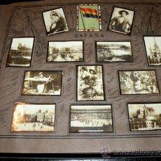 Coleccionismo Álbum: ALBUM GEOGRAFICO UNIVERSAL - COMPLETO - TABACALERA CUBANA SA - CIGARROS SUSINI Y LA CORONA AÑO 1936. Lote 27306758