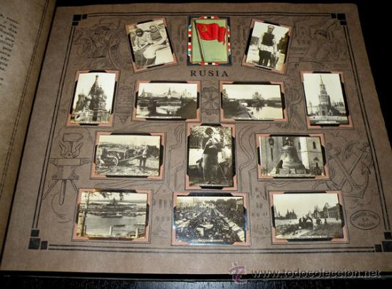Coleccionismo Álbum: ALBUM GEOGRAFICO UNIVERSAL - COMPLETO - TABACALERA CUBANA SA - CIGARROS SUSINI Y LA CORONA AÑO 1936 - Foto 2 - 27306758