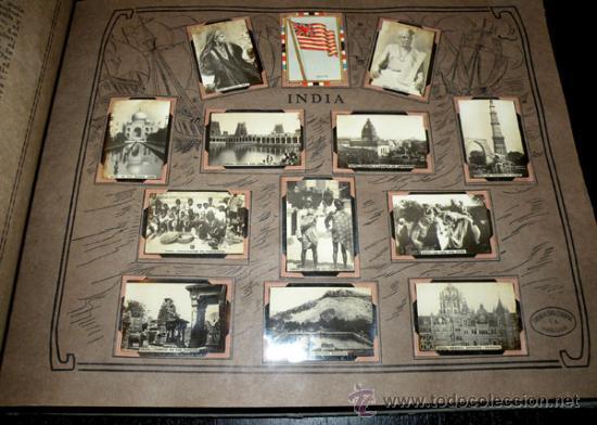 Coleccionismo Álbum: ALBUM GEOGRAFICO UNIVERSAL - COMPLETO - TABACALERA CUBANA SA - CIGARROS SUSINI Y LA CORONA AÑO 1936 - Foto 3 - 27306758