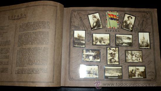 Coleccionismo Álbum: ALBUM GEOGRAFICO UNIVERSAL - COMPLETO - TABACALERA CUBANA SA - CIGARROS SUSINI Y LA CORONA AÑO 1936 - Foto 6 - 27306758