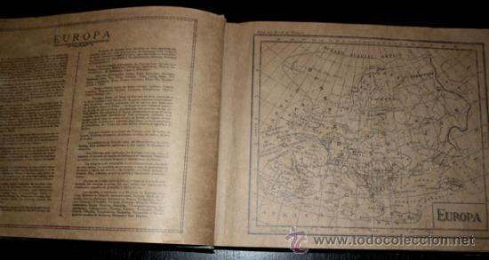 Coleccionismo Álbum: ALBUM GEOGRAFICO UNIVERSAL - COMPLETO - TABACALERA CUBANA SA - CIGARROS SUSINI Y LA CORONA AÑO 1936 - Foto 7 - 27306758