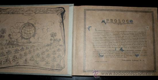 Coleccionismo Álbum: ALBUM GEOGRAFICO UNIVERSAL - COMPLETO - TABACALERA CUBANA SA - CIGARROS SUSINI Y LA CORONA AÑO 1936 - Foto 8 - 27306758