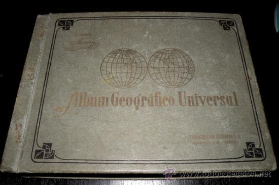 Coleccionismo Álbum: ALBUM GEOGRAFICO UNIVERSAL - COMPLETO - TABACALERA CUBANA SA - CIGARROS SUSINI Y LA CORONA AÑO 1936 - Foto 11 - 27306758