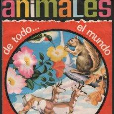 Coleccionismo Álbum: ANIMALES DE TODO EL MUNDO.- EDITORIAL FHER.- AÑO 1967.- ALBUM COMPLETO DE 300 CROMOS. Lote 25790875