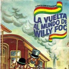 Coleccionismo Álbum: LA VUELTA AL MUNDO DE WILLY FOG - DANONE (COMPLETO). Lote 25920576