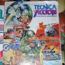 Coleccionismo Álbum: ALBUM CROMOS TECNICA Y ACCION COMPLETO Y PERFECTO.. Lote 26095442