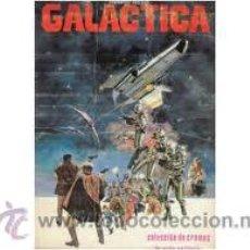 Coleccionismo Álbum: ALBUM CROMOS COMPLETO GALATICA. Lote 26095555
