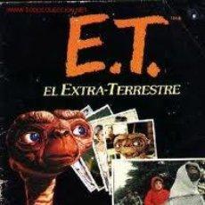 Coleccionismo Álbum: ALBUM DE CROMOS DE LA PELÍCULA E.T. EL EXTRATERRESTRE. Lote 26095615