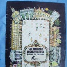Coleccionismo Álbum: PRECIOSO ALBUM DE CROMOS DE LA CIUDAD DE SALAMANCA EDITADO POR EL AYUNTAMIENTO A PRINCIPIO DE LOS 90. Lote 26097174