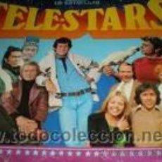 Coleccionismo Álbum: ALBUM CROMOS TELE STARS COMPLETO. Lote 26220375