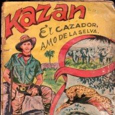 Coleccionismo Álbum: ALBUM DE KAZAN, EL CAZADOR AMO DE LA SELVA - COMPLETO. Lote 26233461