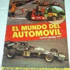 Coleccionismo Álbum: ALBUM CROMOS NUESTROS VEHICULOS BIMBO . Lote 26663310
