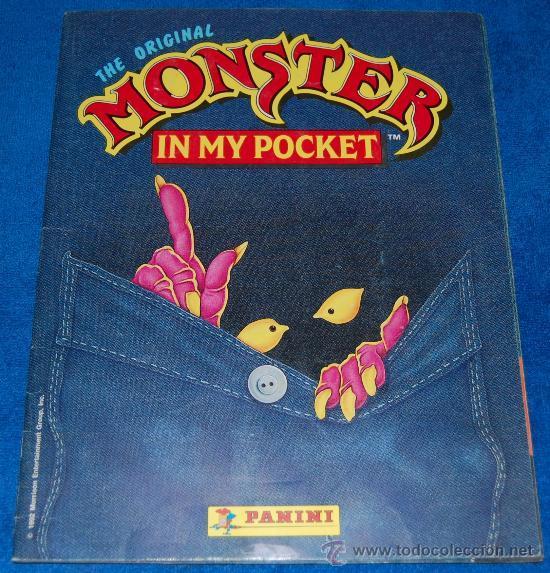 MONSTER IN MY POCKET - PANINI ¡COMPLETO! (Coleccionismo - Cromos y Álbumes - Álbumes Completos)