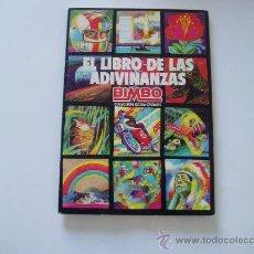 Coleccionismo Álbum: ALBUM CROMOS EL LIBRO DE LAS ADIVINANZAS BIMBO 1º COMPLETO. Lote 26915517