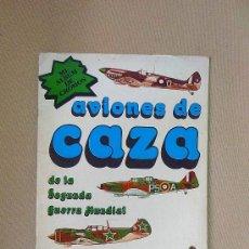 ALBUM, AVIONES DE CAZA, EDITORIAL NUEVA SITUACION, 32 CROMOS, COMPLETO
