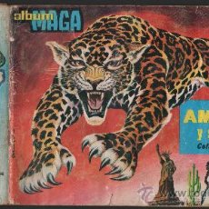 Coleccionismo Álbum: AMERICA Y SUS HABITANTES.- EDITORIAL MAGA.- AÑO 1968.- ALBUM COMPLETO DE 252 CROMOS.. Lote 39464795
