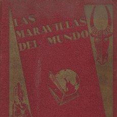 Coleccionismo Álbum: LAS MARAVILLAS DEL MUNDO COMPLETO 480 CROMOS DE NESTLE. Lote 27468937