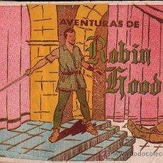 Coleccionismo Álbum: ALBUM DE LAS AVENTURAS DE ROBIN HOOD . Lote 27744618