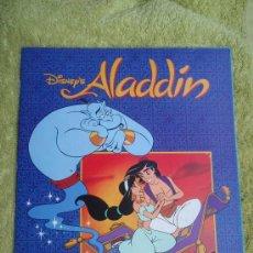 Coleccionismo Álbum: ALBUM ALADDIN DISNEY , PANINI , COMPLETO, ORIGINAL, . Lote 148880565