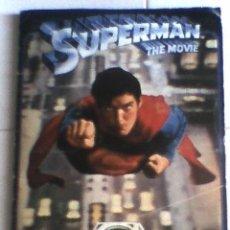 Coleccionismo Álbum: ALBUM CROMOS SUPERMAN THE MOVIE COMPLETO. Lote 27915543