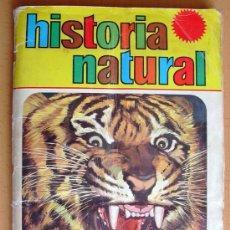 Coleccionismo Álbum: HISTORIA NATURAL - EDITORIAL BRUGUERA 1967 - ÁLBUM COMPLETO CON 508 CROMOS. Lote 34033235