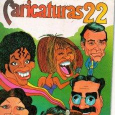 Coleccionismo Álbum: CARICATURAS 22 210 CROMOS COMPLETO DE CROMOS ROS . Lote 28005026