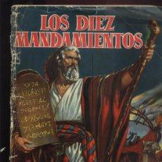 Coleccionismo Álbum: LOS DIEZ MANDAMIENTOS COMPLETO. Lote 28011150