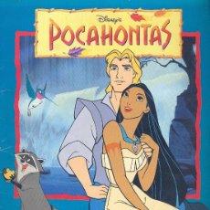 Coleccionismo Álbum: ALBUM COMPLETO POCAHONTAS - PANINI. Lote 28124645
