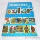 Coleccionismo Álbum: ALBUM DE CROMOS NATURALEZA Y COLOR H. FOURNIER EDITADO POR CAREN 1980 !!!!!. Lote 28213878