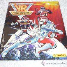 Coleccionismo Álbum: ALBUM DE CROMOS COMPLETO SABANS VR TROOPERS DE PANINI DE 1995. Lote 28223962