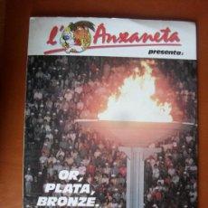 Coleccionismo Álbum: ALBUM L'ANXANETA DE CAIXA DE CATALUNYA - OR,PLATA, BRONZE -- ¡¡COMPLETO!!. Lote 28252392
