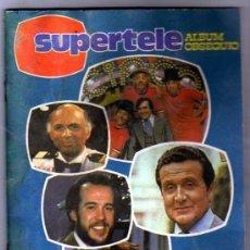 Coleccionismo Álbum: SUPERTELE ALBUM OBSEQUIO. GENTE DE LA TELE. 1981. . Lote 28289060