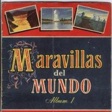 Coleccionismo Álbum: MARAVILLAS DEL MUNDO 1 (COMPLETO). Lote 28423836