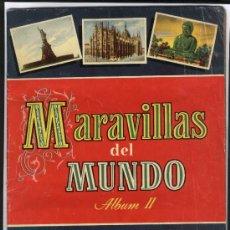 Coleccionismo Álbum: MARAVILLAS DEL MUNDO 2 (COMPLETO). Lote 28423860