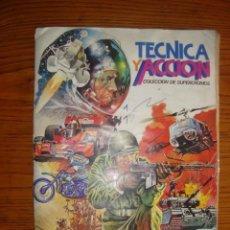 Coleccionismo Álbum: TECNICA Y ACCION - COLECCION DE SUPERCROMOS - COMPLETO. Lote 148418512