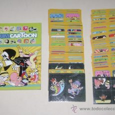 Coleccionismo Álbum: ALBUM CARTOON NETWORK - MINI ÁLBUM EDITORIAL NAVARRETE - 100% COMPLETO. Lote 186330383