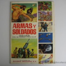 Coleccionismo Álbum: ÁLBUM ARMAS Y SOLDADOS EDIT.BRUGUERA 1972.COMPLETO 248 CROMOS ESTADO EXCEPCIONAL. Lote 28723101