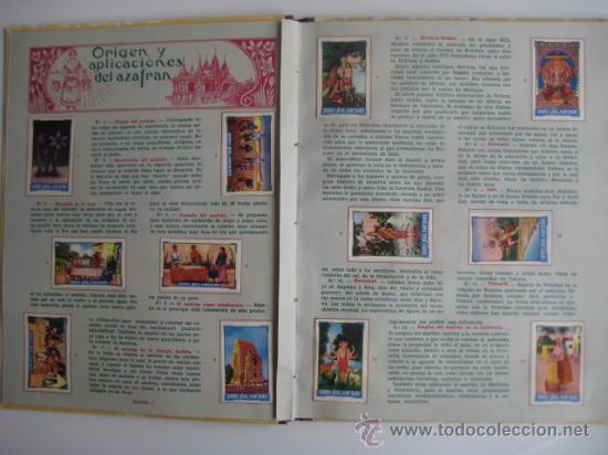 Coleccionismo Álbum: ÁLBUM SALSAFRÁN Nº1.VIUDA DE A.GÓMEZ. 1942,COMPLETO CON 108 CROMOS - Foto 3 - 28723542